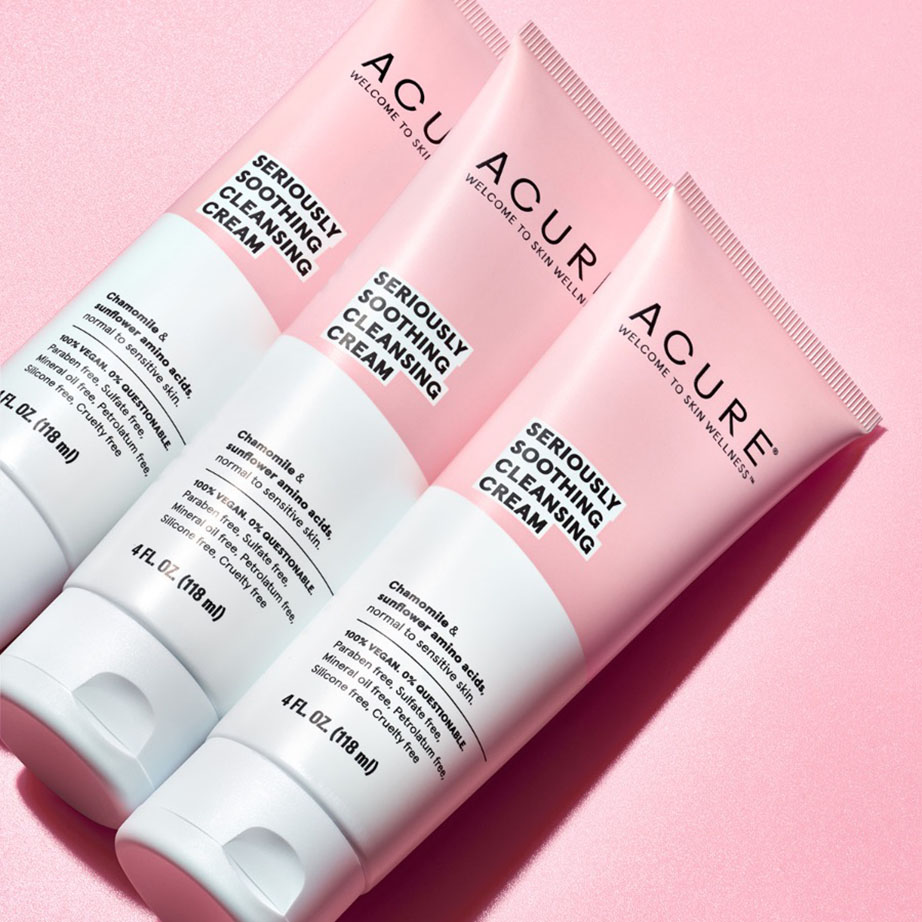 acure cream cleanser